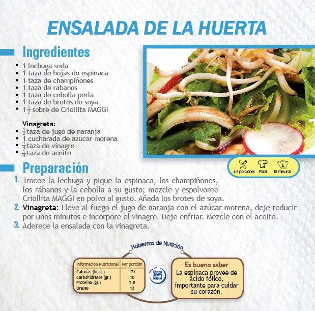 Recetario Nestlé