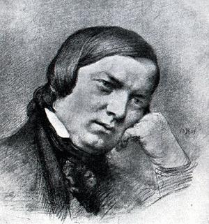 Robert Schumann melancolico
