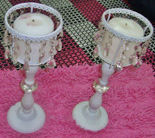 White Stand Candle