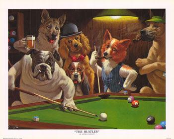 Arthur Sarnoff Sarnof critic painting artist artwork dogs hustler jack ripper sanoff modern illustrator master