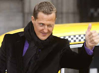michael schumacher micheal schumee schumi bacardi drink drive campaign motorcycle motorbike