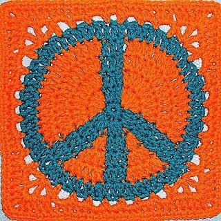 Crochet Peace Sign Pattern here. - Fuck Yeah Crochet