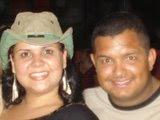 Minha caçulinha e seu esposo