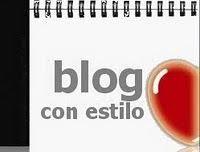 Premio blog con estilo 2011