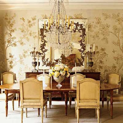 wallpaper room. for the love of gold