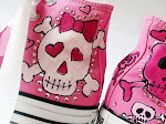 Painted Pink Skullies Chuck Taylor Converse