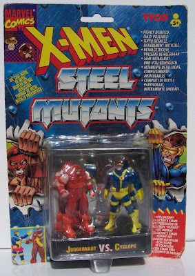 Bart Sears Steel Mutants Juggernaut v Cyclops