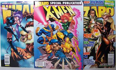 Bart Sears - Wizard #61, X-Men Special, Wizard #115