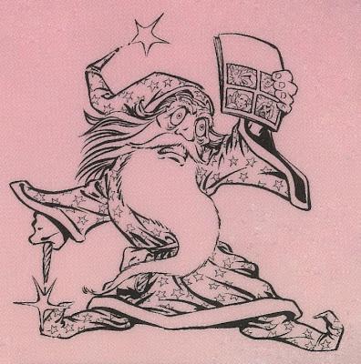 Bart Sears Wizard Mascot - Comic