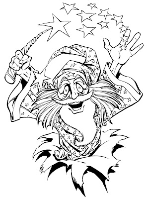 Bart Sears Wizard Mascot - TaDa