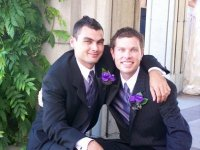My nephews Dan and Wes on Wes' wedding day