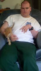 Preston and his kitty, Princess