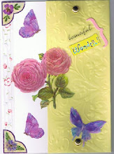 "Flower card #3 ""beautiful wonder"""