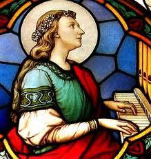 Santa Cecilia patrona degli organisti
