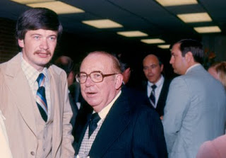 Dr. Jerry Dowling and Dean George Killinger
