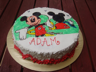 Cartoon Artwork Deco Cake