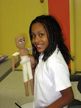 my doll making a doll