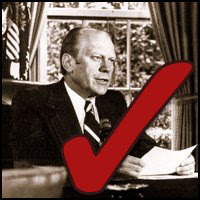 Gerald Ford: Dead
