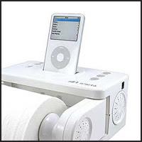 iCarta iPod Toilet Paper Holder