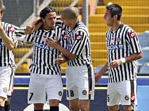 Udinese Eliminates Milan from Italy Cup