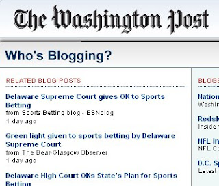 Sports Betting blog - BSNblog on the news