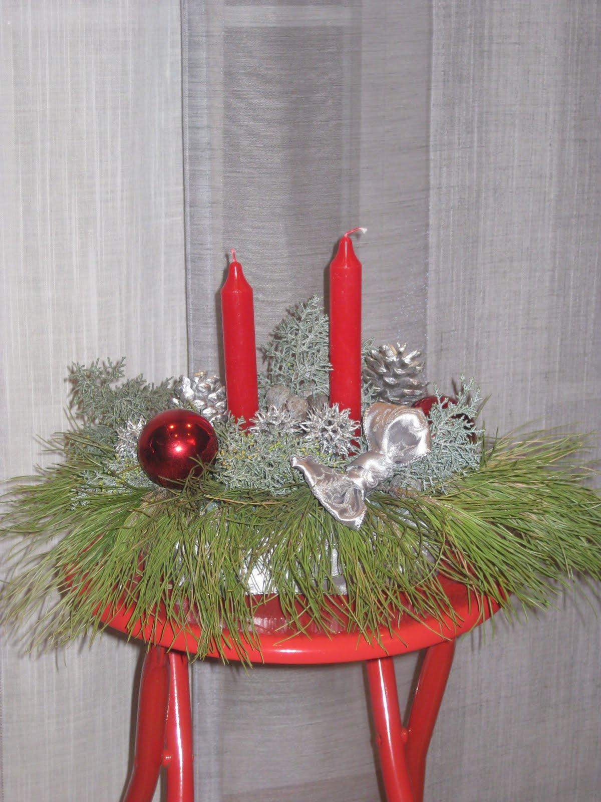 La rebotica centros de mesa navide os - Centros de mesa navidenos manualidades ...