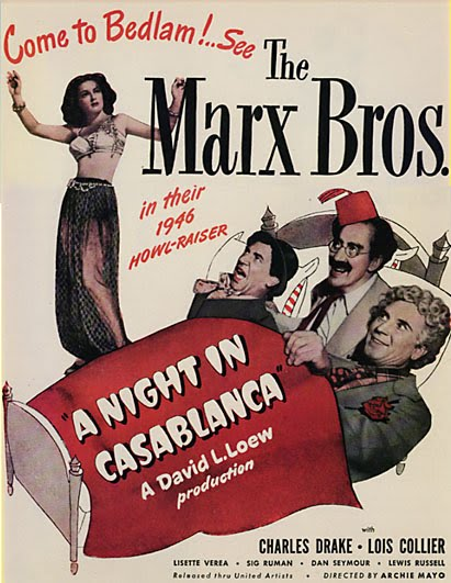 an analysis of groucho marxs letter to the warner brothers Trademark bully: warner bros the year was 1945 the warner bros legal department learned that the marx brothers were planning to release a feature-length spoof of the warner bros motion picture, casablanca.