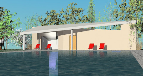 Pool House, Bickley - by Bernard Humphrey-Gaskin of abp Chartered Architects, Bromley architects