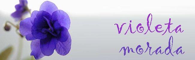 violeta morada
