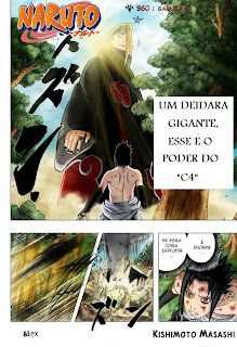Naruto Mangá - Capítulo 360 (Colorido)