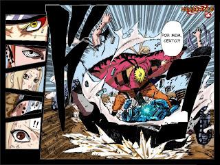 Naruto - Mangás coloridos