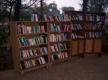 Bibliotek ute i det fria!!