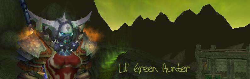 Lil&#39; Green Hunter