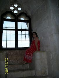 Feito rainha no Castel d'el Monte