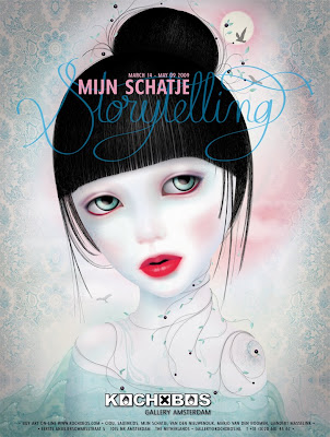 Marie+Blanco+Hendrickx+aka+Mijn+Schatje+-+Storytelling-poster