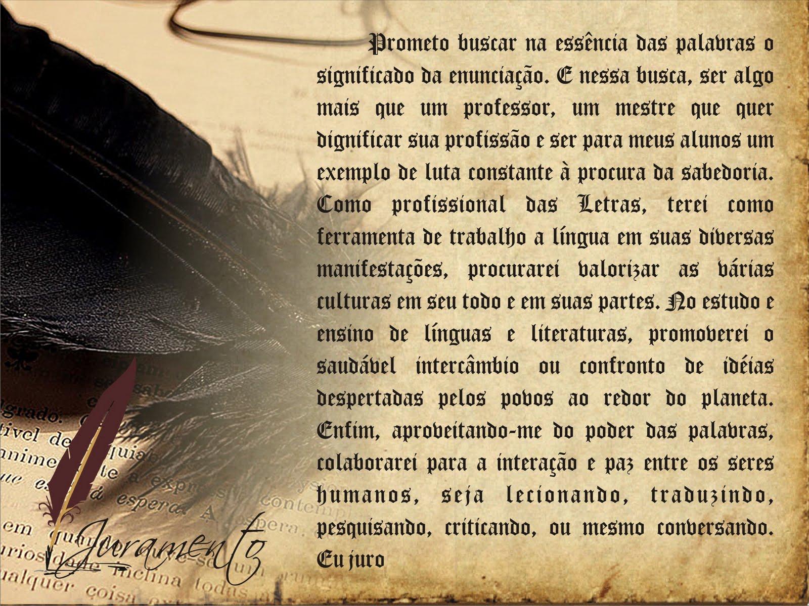 Convite De Formatura Letras UNOPAR 2009