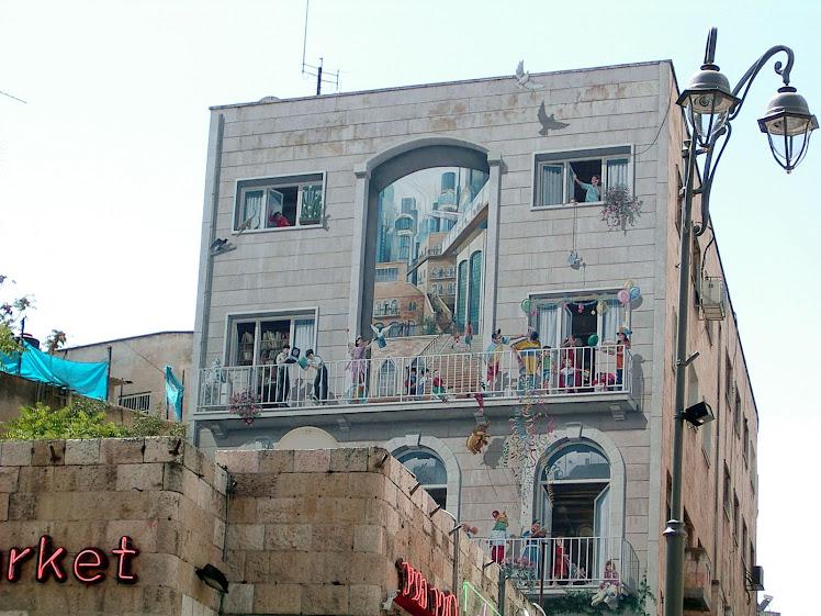 תמונות קיר במדרחוב