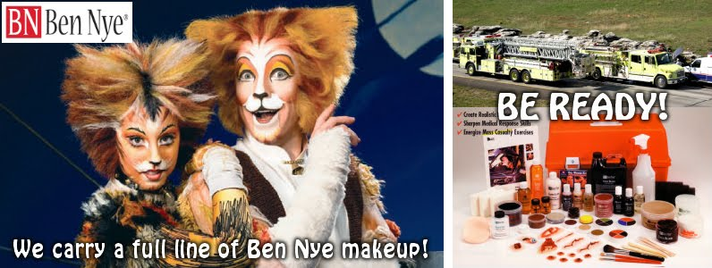 BEN NYE MAKE- UP. Check out the link here: