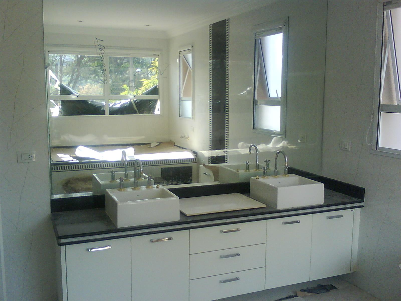 VIPaulo Vidros e Box: Espelhos box jateado pia de vidro divisórias  #556076 1600 1200