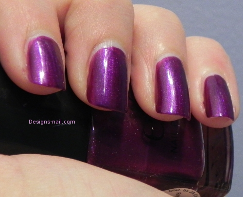 l. nail polish royal purple