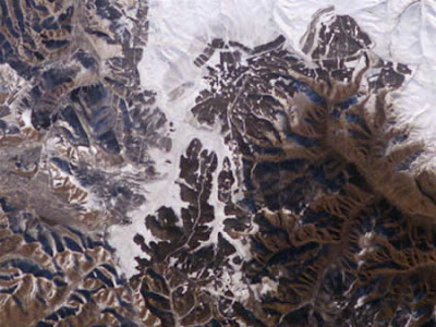 The Great Wall of China is NOT particularly visible from space