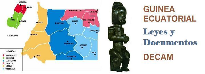 Guinea Ecuatorial Leyes y Documentos