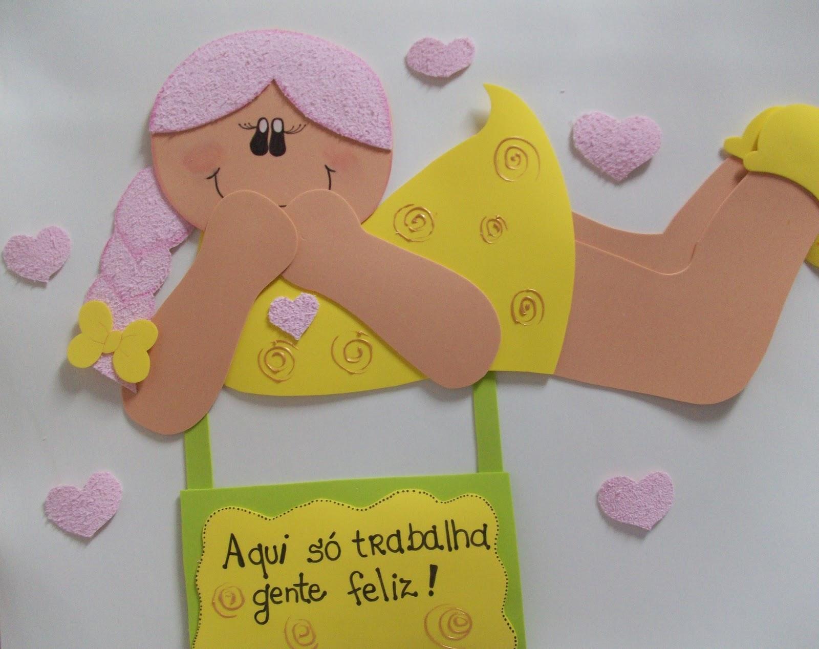 Ideias em EVA Para decorar a escola -> Decoracao Para Banheiro De Escola Em Eva