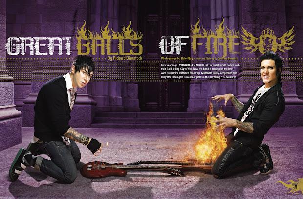Zacky Vengeance & Synyster Gates