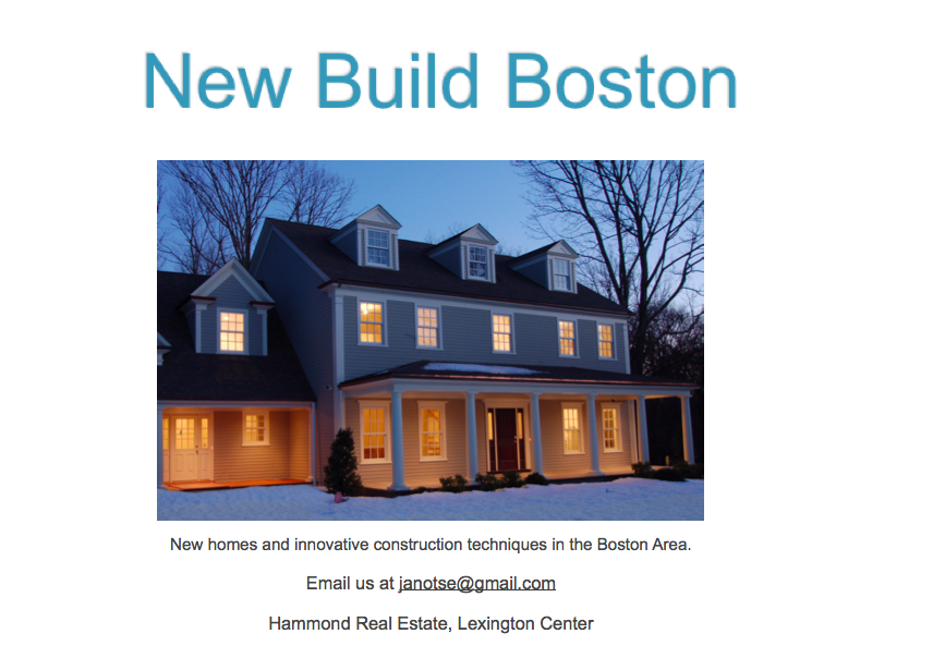 New Build Boston