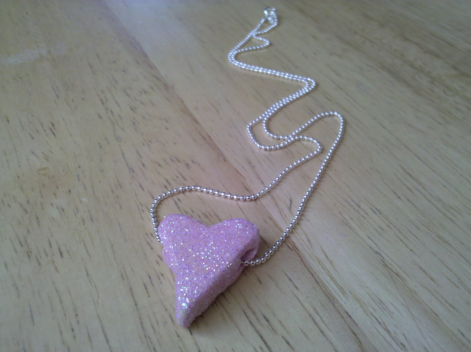 Be brave keep going how to make a clay heart necklace for kids how to make a clay heart necklace for kids and grown ups aloadofball Image collections