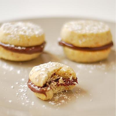 Marzipan: Hazelnut Sandwich Cookies