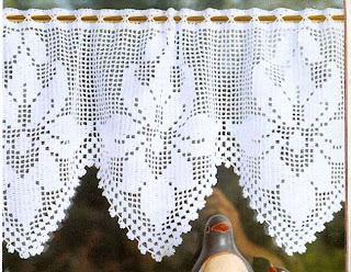 El blog de solocrochet puntilla y cortina - Puntillas para cortinas ...