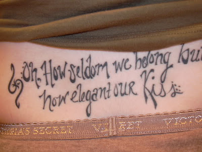 Fancy cursive tattoo fonts