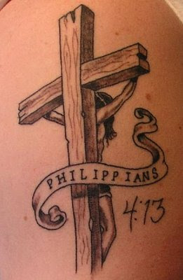 Cool Cross Tattoo Designs
